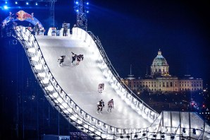Crashed Ice 2013 in St. Paul / Image via MPR News